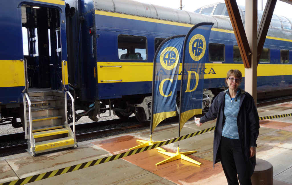 Train at Fairbanks
