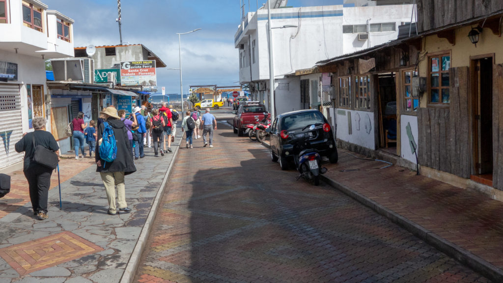 Puerto Ayora on Santa Cruz