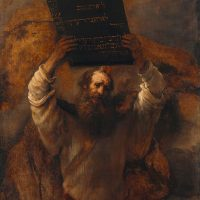 Moses Ten Commandments Moral Codes